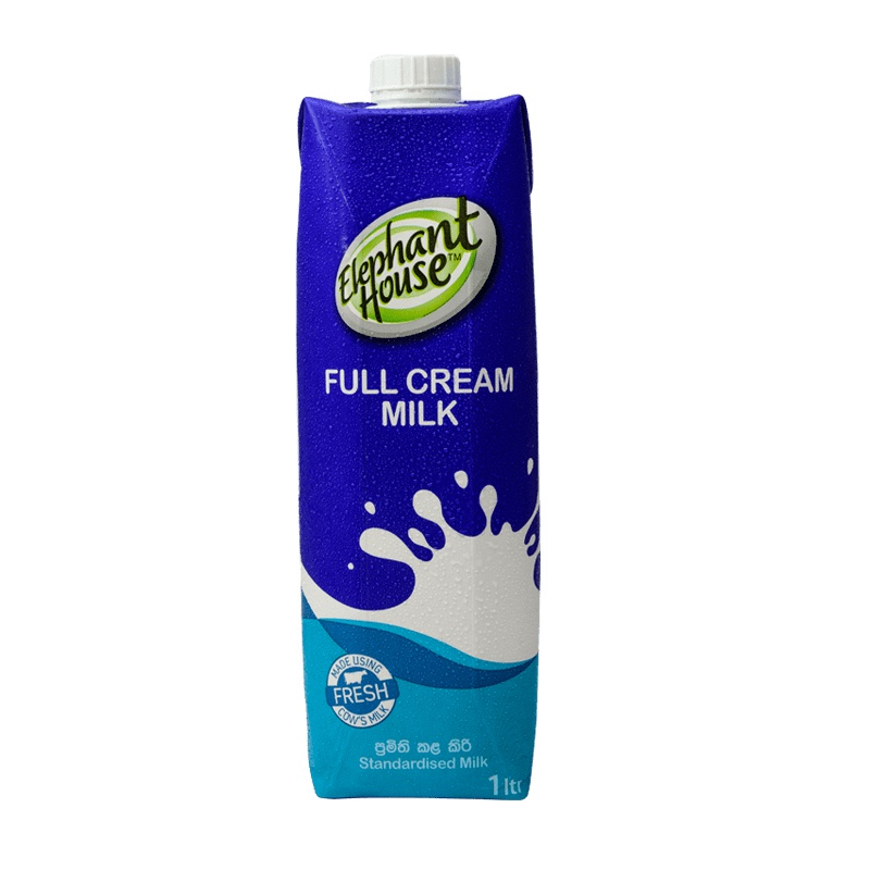 Elephant House Full Cream Milk Uht 1l - in Sri Lanka