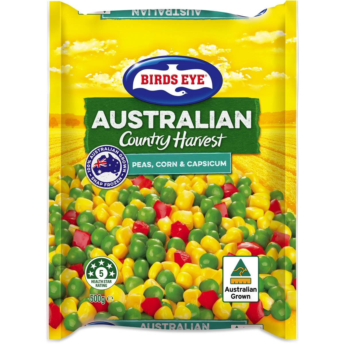 Birds Eye Green Peas Corn & Cap.500g - in Sri Lanka