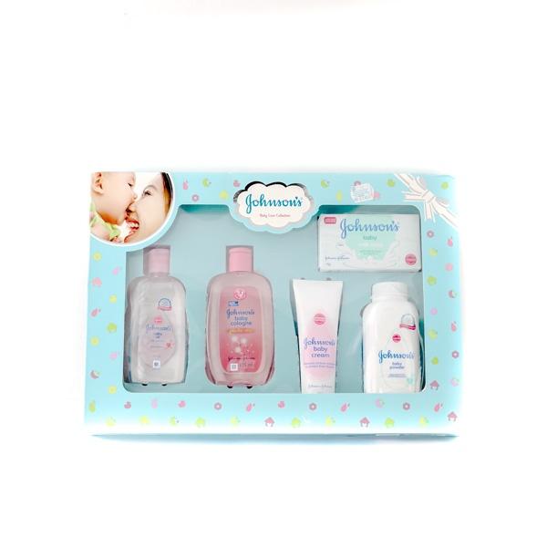J&J Baby Care Gift Pack Blue - in Sri Lanka
