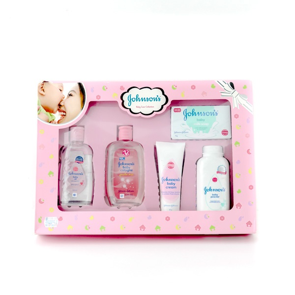 J&J Baby Care Gift Pack Pink - in Sri Lanka