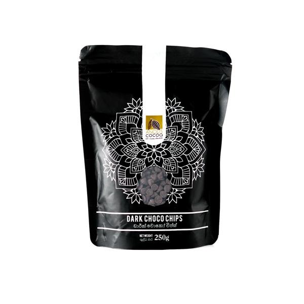 Anods Cocoa Dark Choco Chips 250g - in Sri Lanka