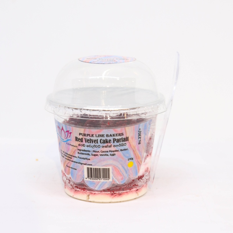 Plb Red Velvet Cake Parfait 100g - in Sri Lanka