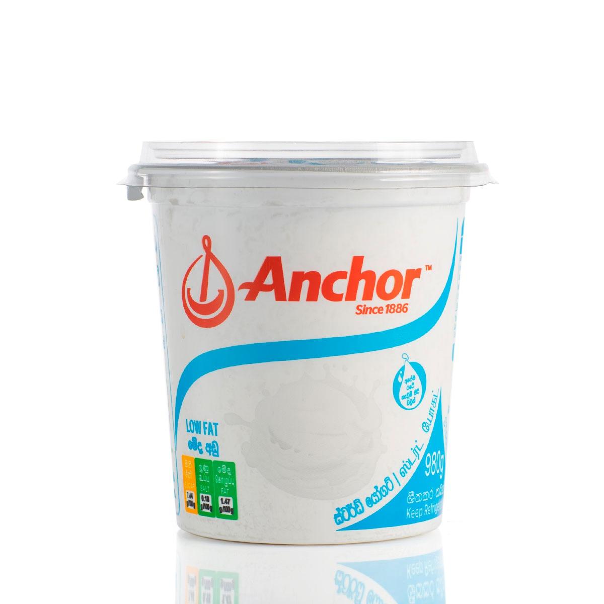 Anchor Yoghurt Stirred Low Fat 980G - in Sri Lanka
