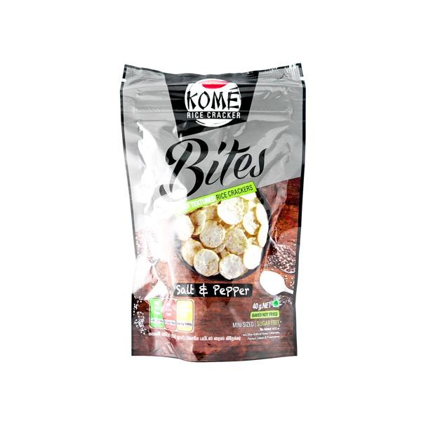 Munchee Kome Bites Salt & Pepper 40g - in Sri Lanka