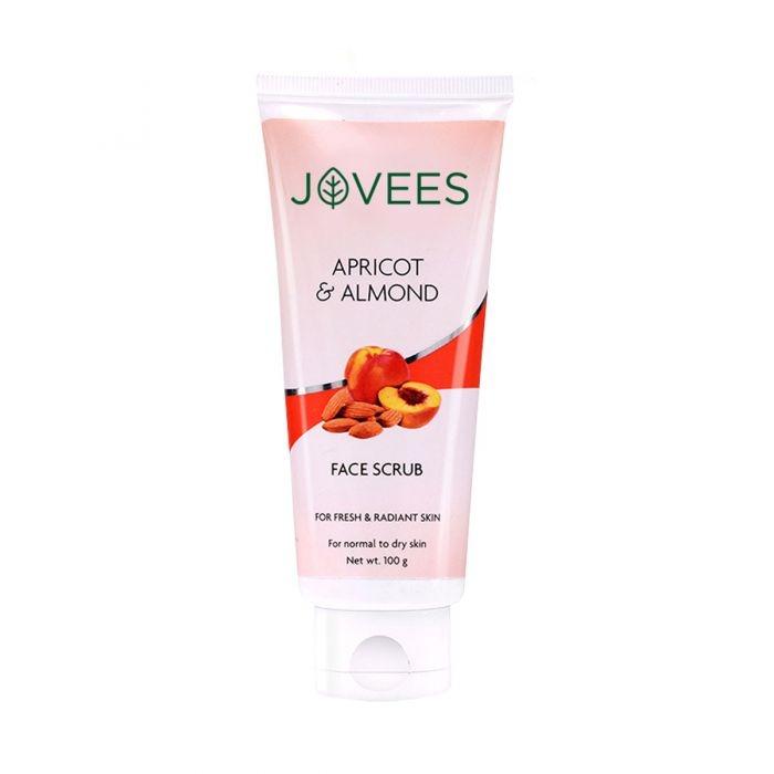 Jovees F/Scrub Apricot & Almond 100g - in Sri Lanka