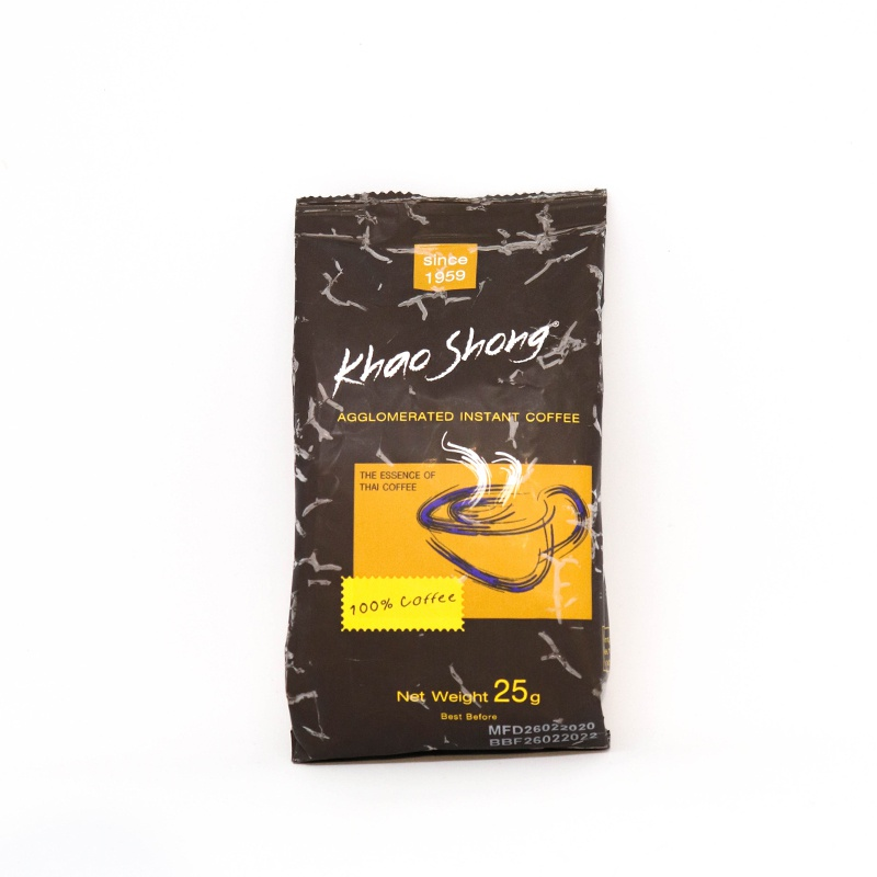 Khao Shong Instant Coffee Pouch 25G - in Sri Lanka