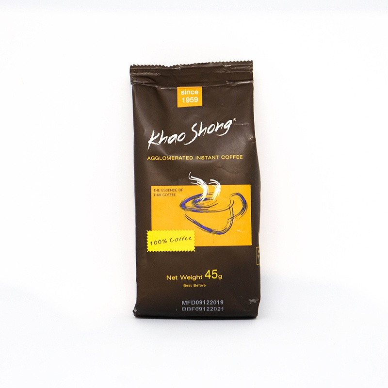 Khao Shong Instant Coffee Pouch 45G - in Sri Lanka