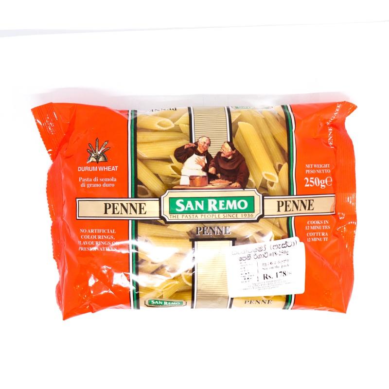 San Remo Pasta Penne No.18 250G - in Sri Lanka