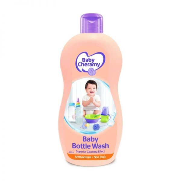 Baby Cheramy Bottle Wash Lquid 400Ml - in Sri Lanka