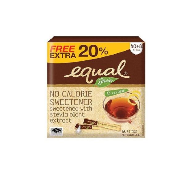 Equal Stevia Sticks 40's - in Sri Lanka