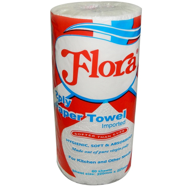 Flora Kitchen Towel 2ply Single - in Sri Lanka