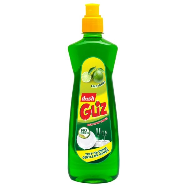 Dash Gliz Dish Wash Lime 500ml - in Sri Lanka