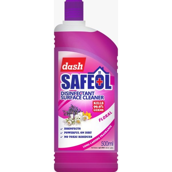 Dash Safeol Disinfectnt Floral 500ml - in Sri Lanka