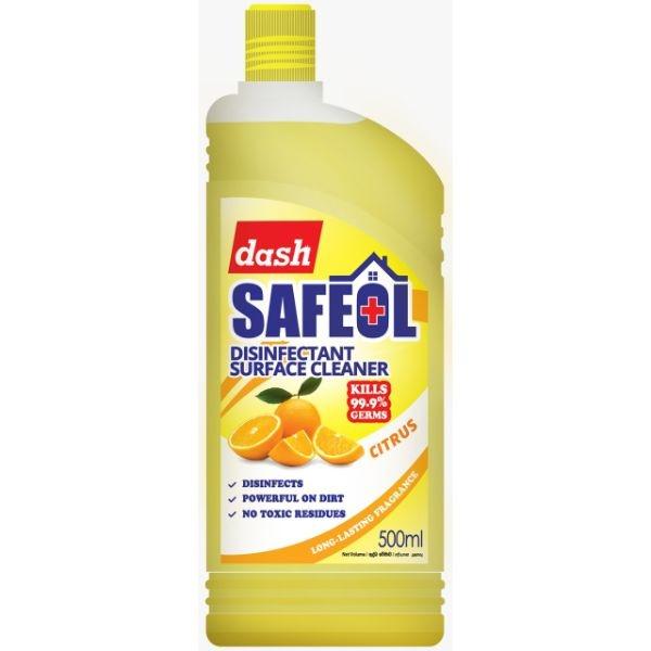 Dash Safeol Disinfectnt Citrus 500ml - in Sri Lanka
