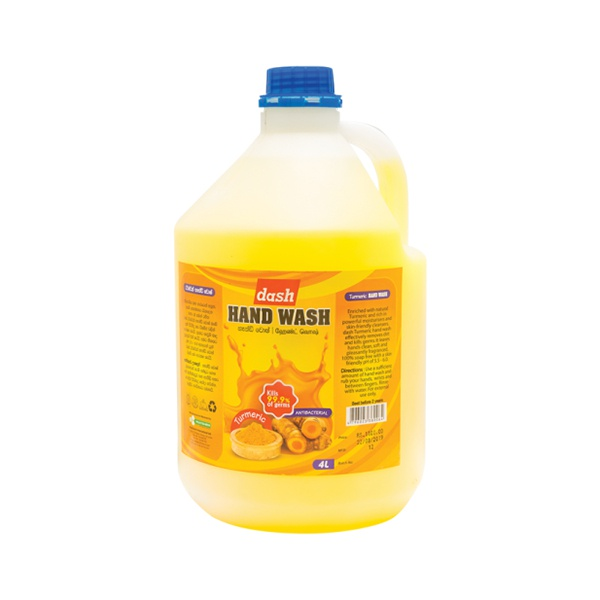 Dash Hand Wash Turmeric 4l - in Sri Lanka