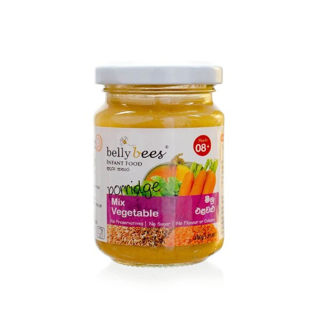 Bellybees Pordg M/Vegetable 8M 150G - in Sri Lanka