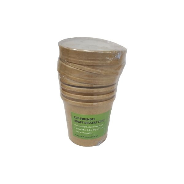 Eco Life Dessert Cup 350Ml 4Pcs - in Sri Lanka