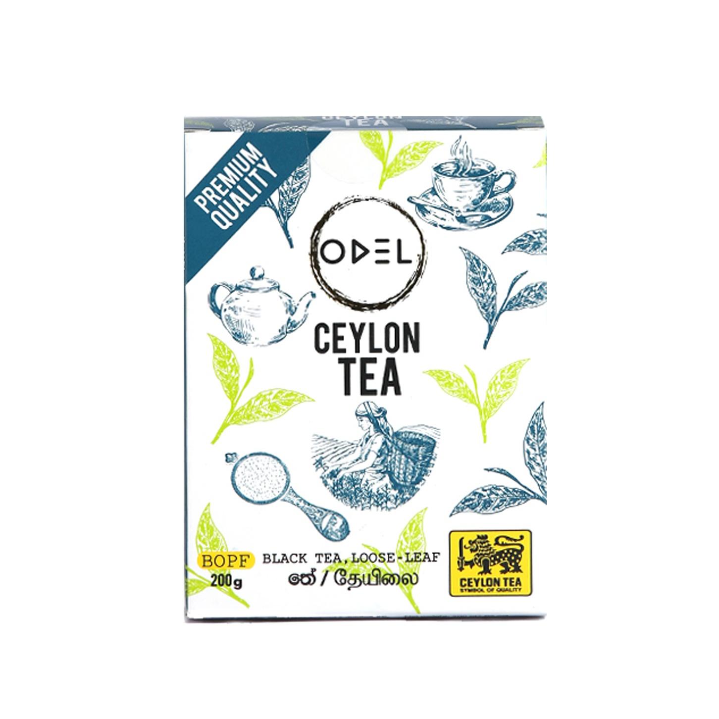 Odel Black Tea Loose Leaf Bopf 200G - in Sri Lanka