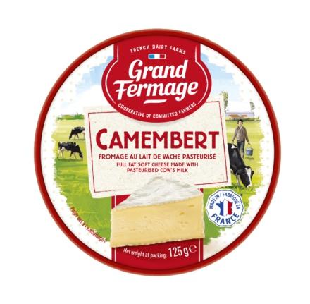Eurial Grand Fermage  Cheese Camembert 125G - in Sri Lanka