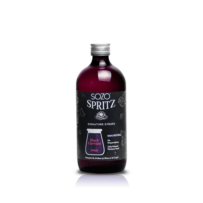 Sozo Spritz Black Curra. Syrup 500Ml - in Sri Lanka