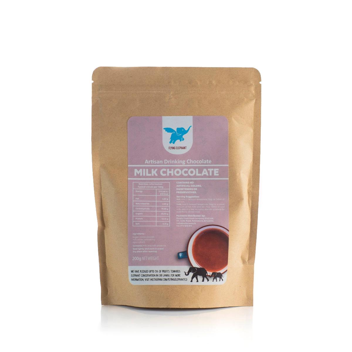 Flying Elephant Milk Cho.Powder 200G - in Sri Lanka