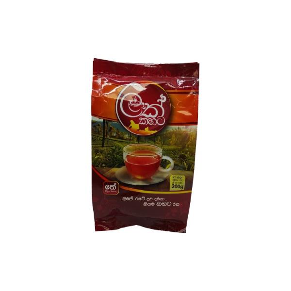 Lak Kahata Black Tea Pouch 200G - in Sri Lanka