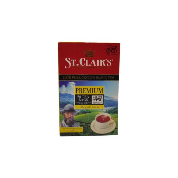 St.Clair'S Bopf Blk Tea Bag 50S 100G - in Sri Lanka