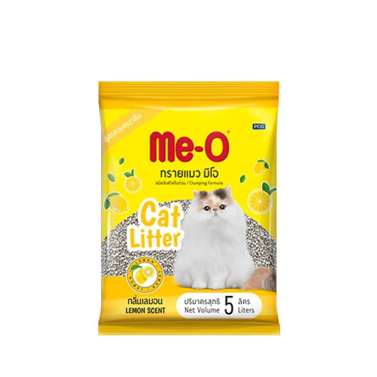 Me-O Cat Litter Lemon 5L - in Sri Lanka