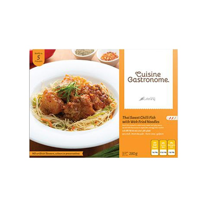 Cuisine Gastronome Thai Sweet Chilli Fish With Fried Noodles 280G - in Sri Lanka