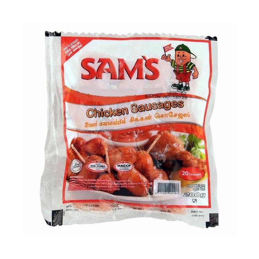 Sam'S Chicken Sausage 200G - in Sri Lanka
