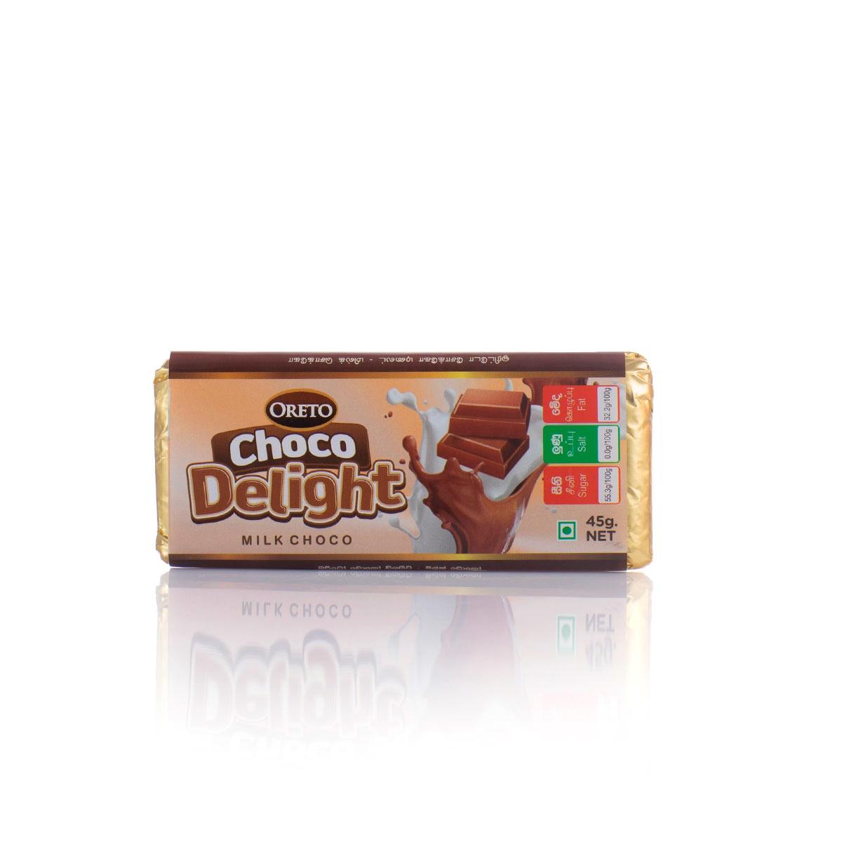 Oreto Choco Delight Chocolate 45G - in Sri Lanka