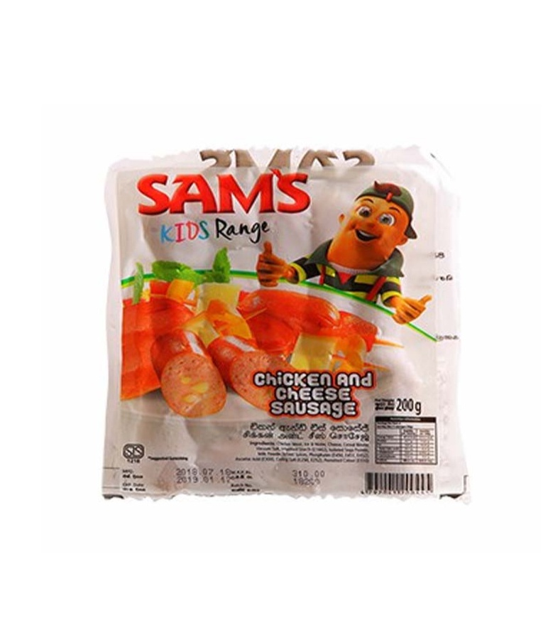 Sam'S Chicken & Cheese Sausage 200G - in Sri Lanka