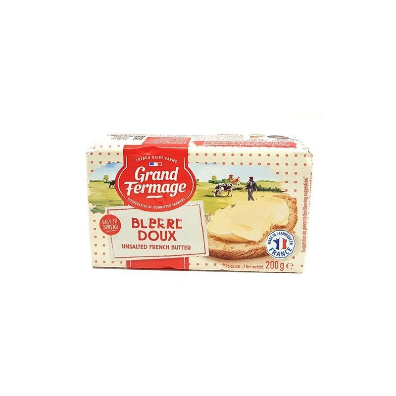 Grand Fermage Butter Unsalted 200G - in Sri Lanka