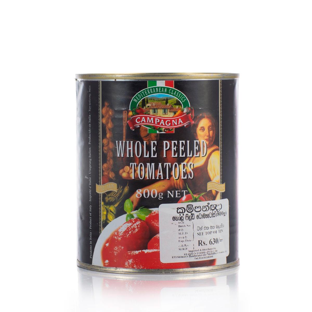 Campagna Whole Peeled Tomatoes 800G - in Sri Lanka