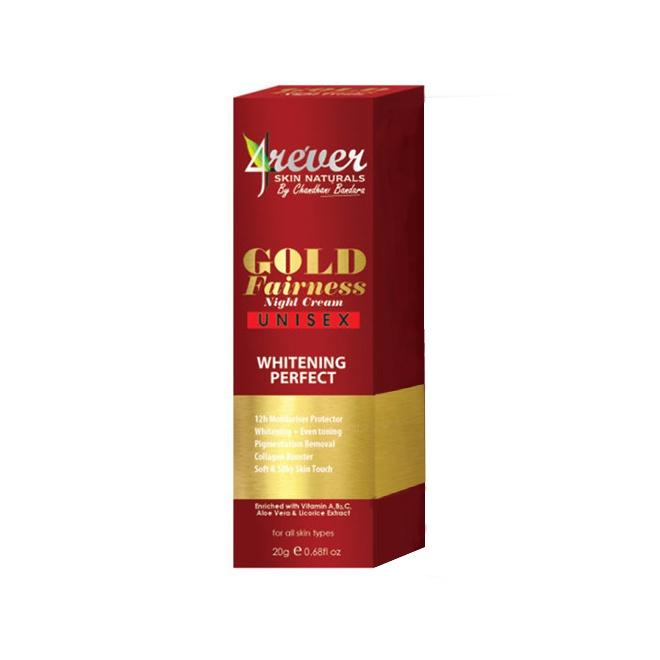4Ever Gold Fairness Night Cream 20G - in Sri Lanka