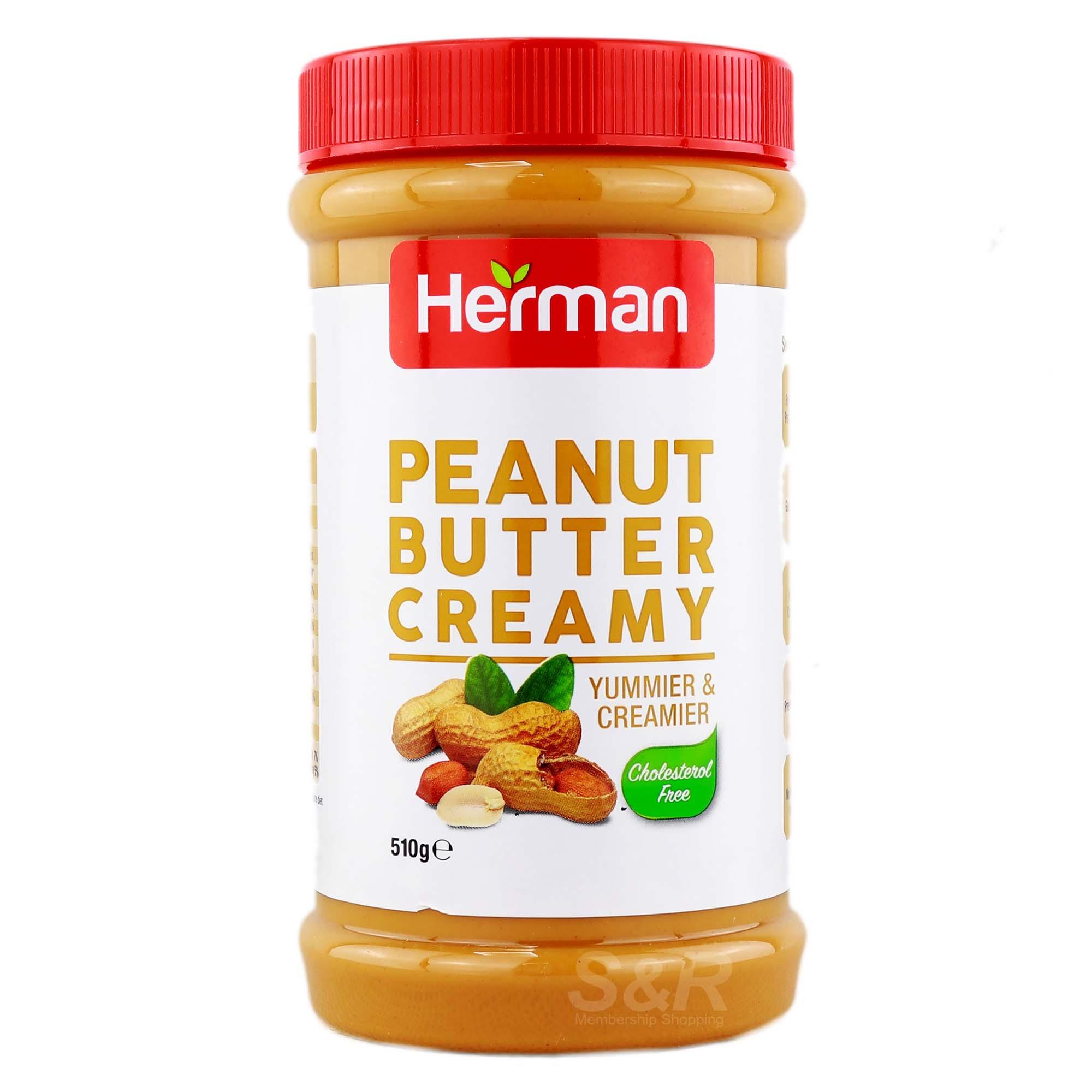 Herman Peanut Butter Creamy 510G - in Sri Lanka