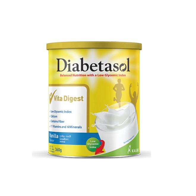 Diabetasol Nutrition Vanilla Flavour Tin 360G - in Sri Lanka