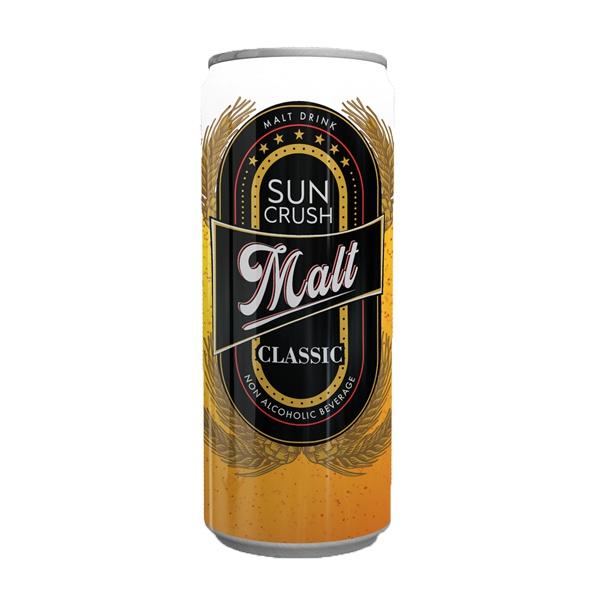 Sun Crush Classic Malt Non Alcoholic Beverage 300Ml - in Sri Lanka