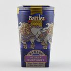 Battler Tea Tin Caddy Silver Elephant 100g - in Sri Lanka