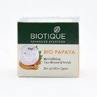 Biotique Face Scrub For All Skin Type Bio Papaya 75gms - in Sri Lanka