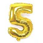 """Ph Number Baloons Foil Gold 32"""" 5 - in Sri Lanka"""