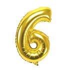 """Ph Number Baloons Foil Gold 32"""" 6 - in Sri Lanka"""