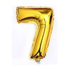 """Ph Number Baloons Foil Gold 32"""" 7 - in Sri Lanka"""