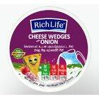Richlife Cheese Wedges Onion 120G - in Sri Lanka