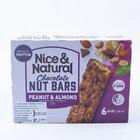 Nice & Natural Chocolate Nut Bars Peanut & Almond 180G - in Sri Lanka