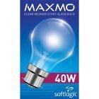 Maxmo Gls Bulb Pin Type 40w - in Sri Lanka