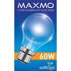 Maxmo Gls Bulb Pin Type 60w - in Sri Lanka