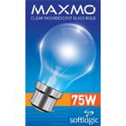 Maxmo Gls Bulb Pin Type 75w - in Sri Lanka