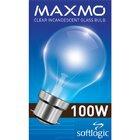 Maxmo Gls Bulb Pin Type 100w - in Sri Lanka