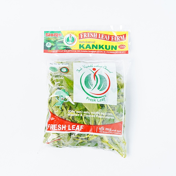 Fresh Leaf Kankun 150G Packet - in Sri Lanka